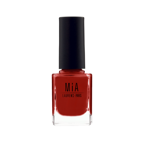 Mia poppy red vegan nail polish