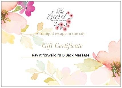 NHS massage Edinburgh